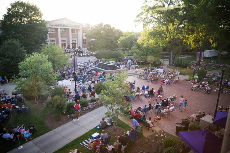 Nashville Symphony visits Bison Square with sounds from around the world