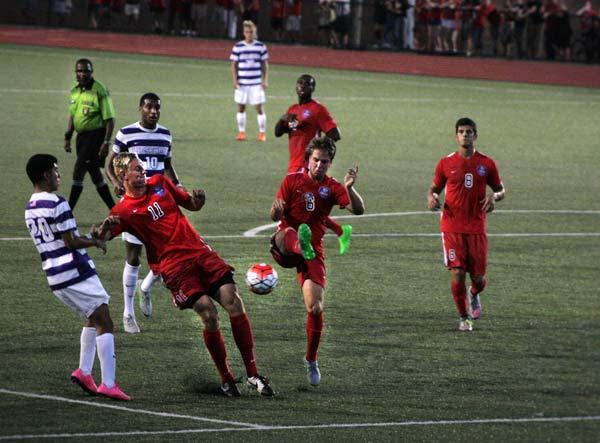 Belmont takes down Lipscomb men's soccer 2-0 in season opener
