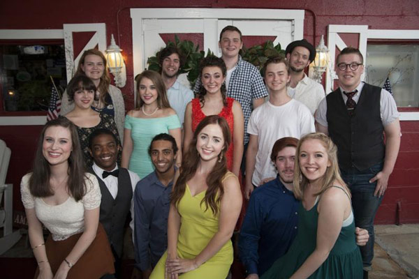 Lipscomb theatre students accept Most Promising Actor nominations
