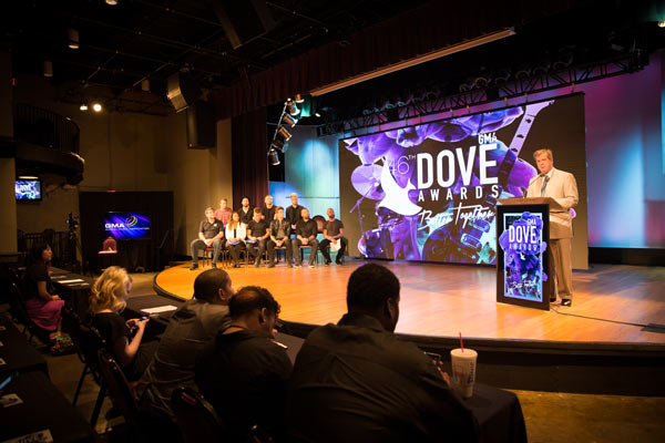 GMA Dove Awards to return to Music City, Lipscomb community