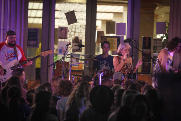 RAINEY emerges on Lipscomb music scene