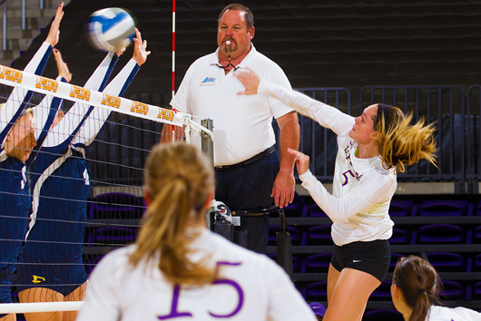 Lipscomb volleyball defeats Ball State Cardinals 3-1