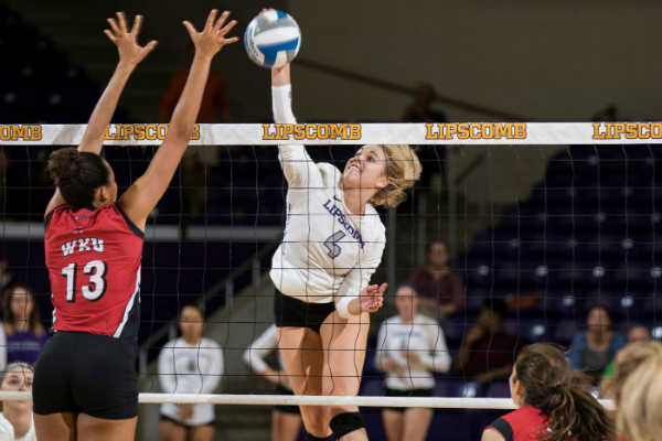 Lipscomb volleyball falls 3-0 against Western Kentucky