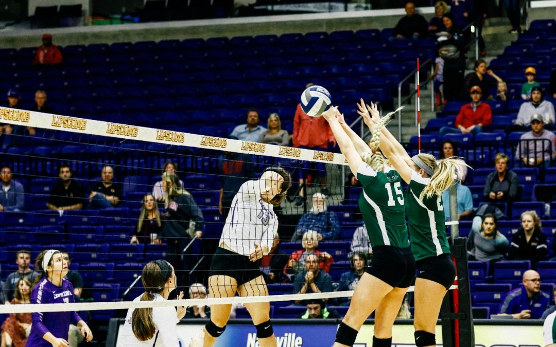 Volleyball defeats Stetson 3-0 in first A-Sun home match