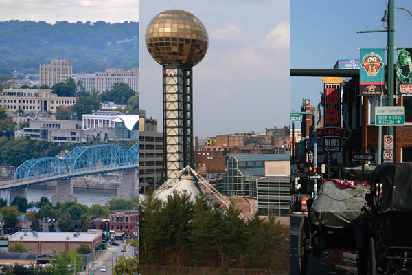 Explore these three Tennessee cities over fall break