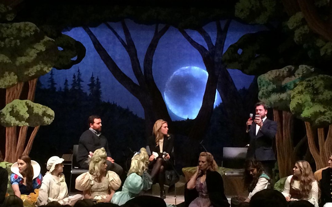 Actress MacKenzie Mauzy visits Lipscomb's 'Into the Woods'