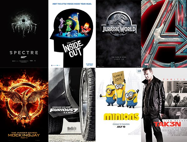 Top five movie picks of 2015