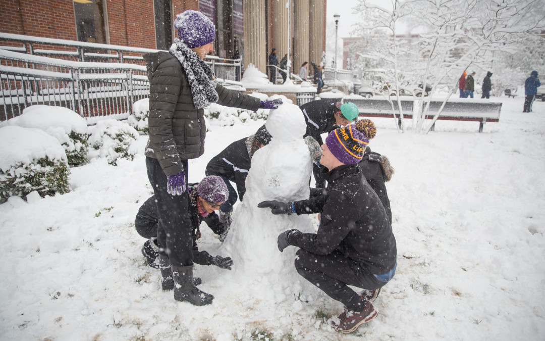 Friday snow day photo gallery