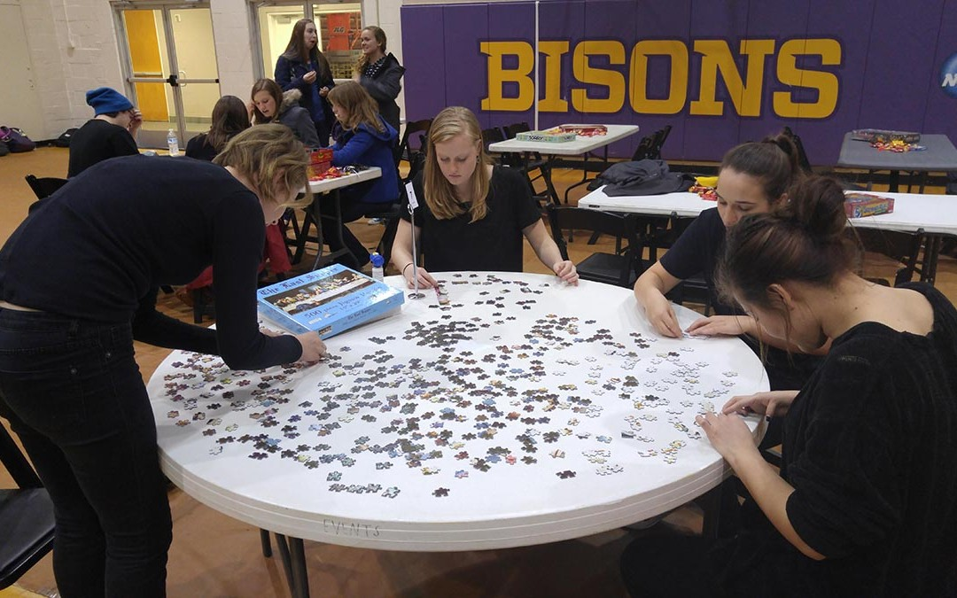Lipscomb students piece-together community at Puzzle Mania