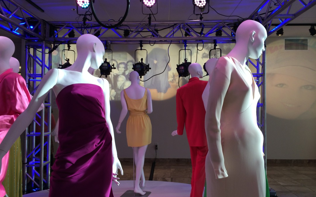 Hutcheson Gallery features works by groundbreaking fashion designer Halston
