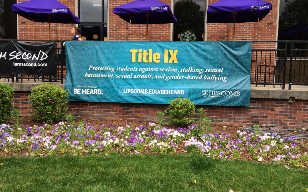 Take Back the Night highlights first annual Sexual Assault Awareness Week