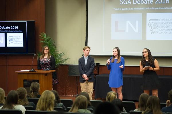 SGA Debate 2016 photo gallery