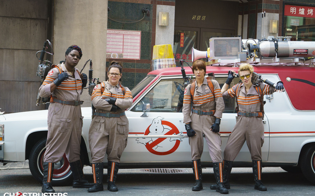 'Ghostbusters' blasts through backlash with remake better than original