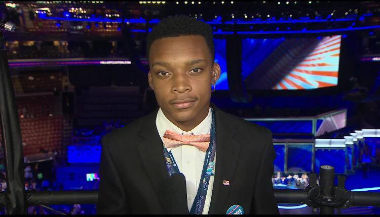Incoming freshman talks being delegate at DNC