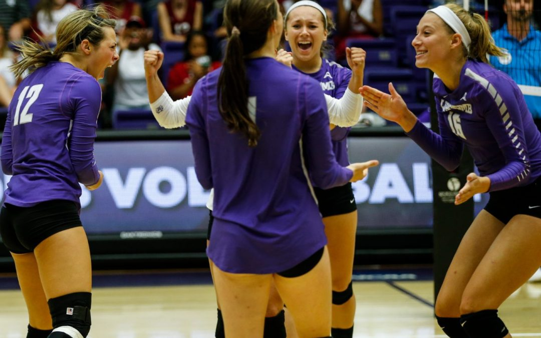 Lady Bisons volleyball sweeps Virginia Tech in LUV Invite finale