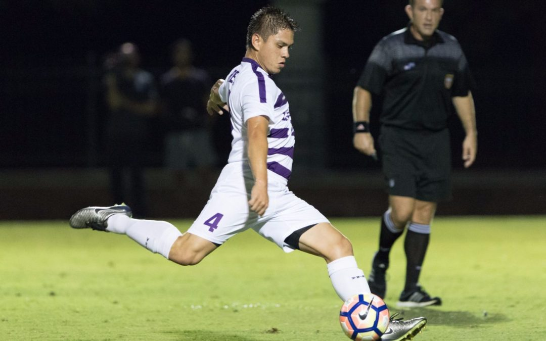 Mens soccer claims 2-0 win over Stetson in first conference game
