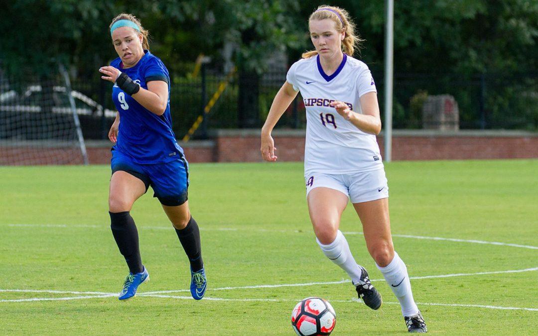 Women's soccer ties Florida Gulf Coast Eagles