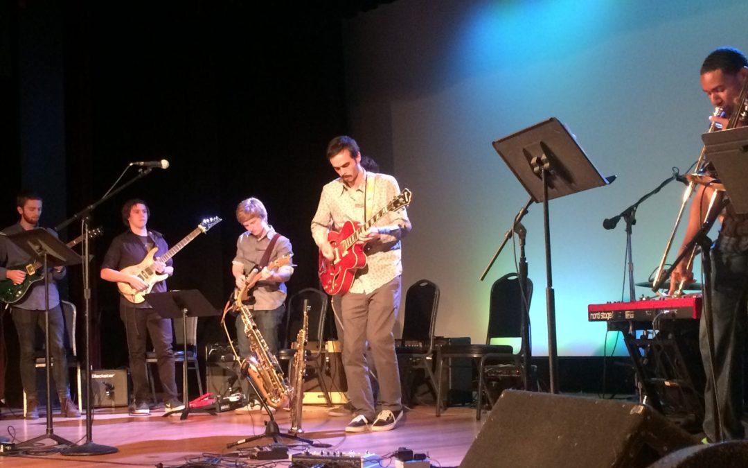 Jazz ensemble performs 'improv' concert, features guest artist Tyler Summers