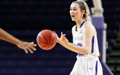 Lady Bisons land first conference win