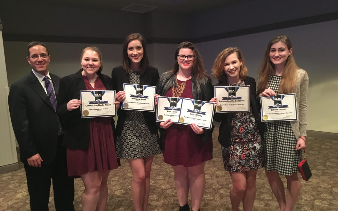 Students bring home journalism awards from SEJC