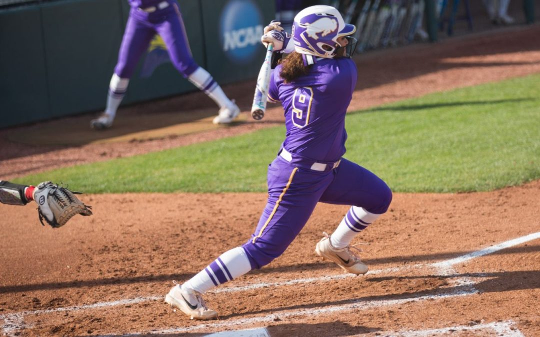 Lady Bisons take down the Toppers in doubleheader