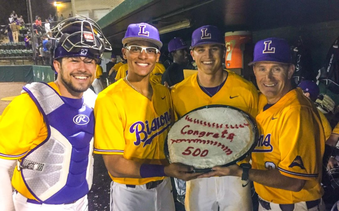 Forehand reaches 500th collegiate win coaching; Bisons pull win over Evansville