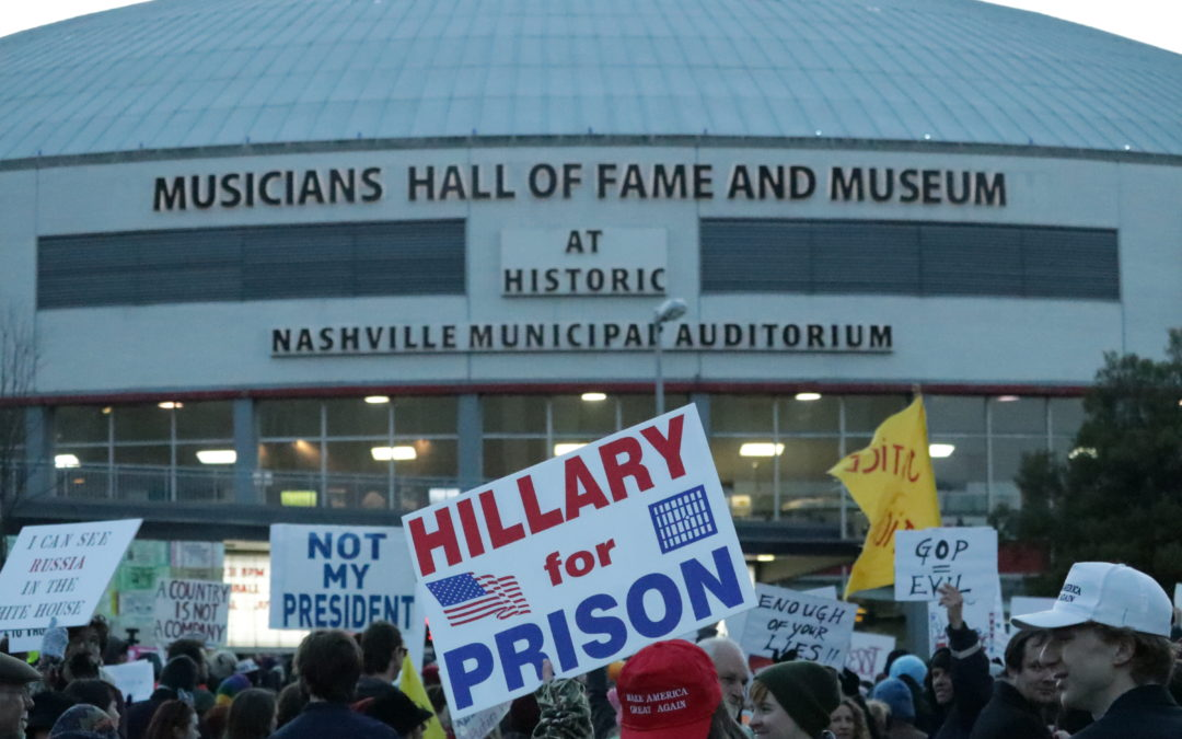President Trump holds rally in Nashville