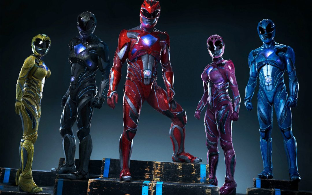 'The Power Rangers Movie' surged into theaters this weekend