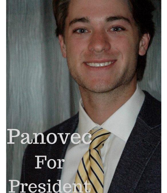 Carson Panovec elected as SGA President