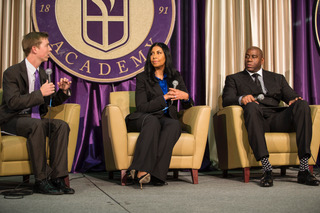 'Imagine' student event features Magic and Cookie Johnson