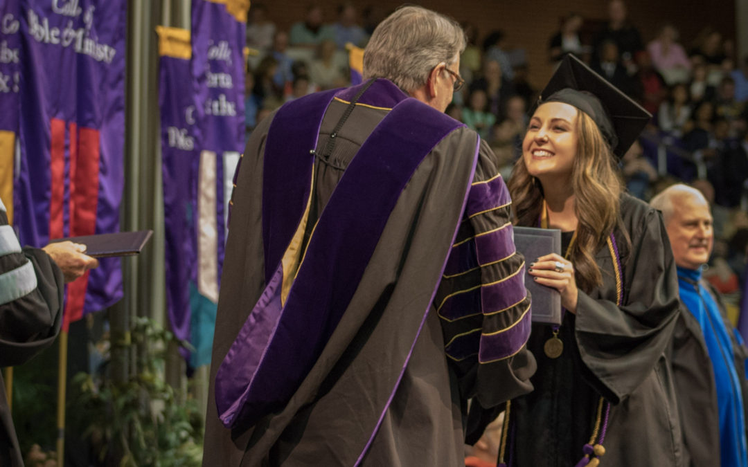 545 undergraduate degrees awarded at 2017 Spring Commencement