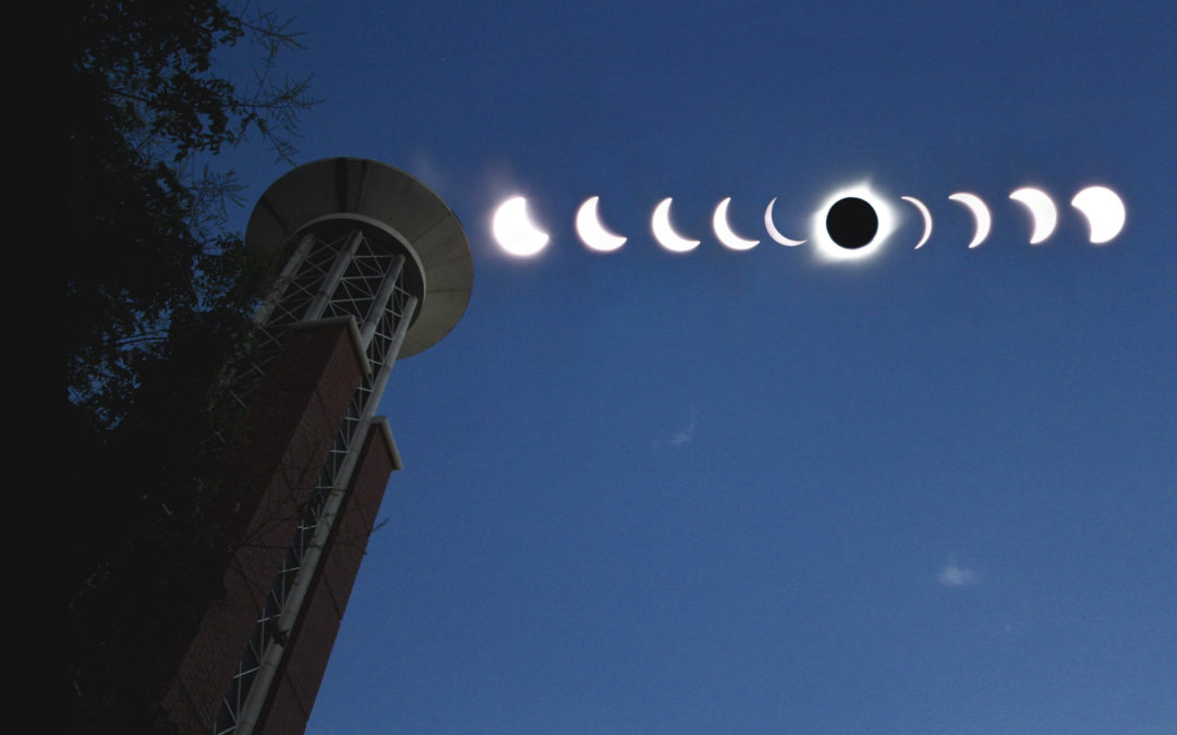 Lipscomb reacts to once-in-a-lifetime total solar eclipse