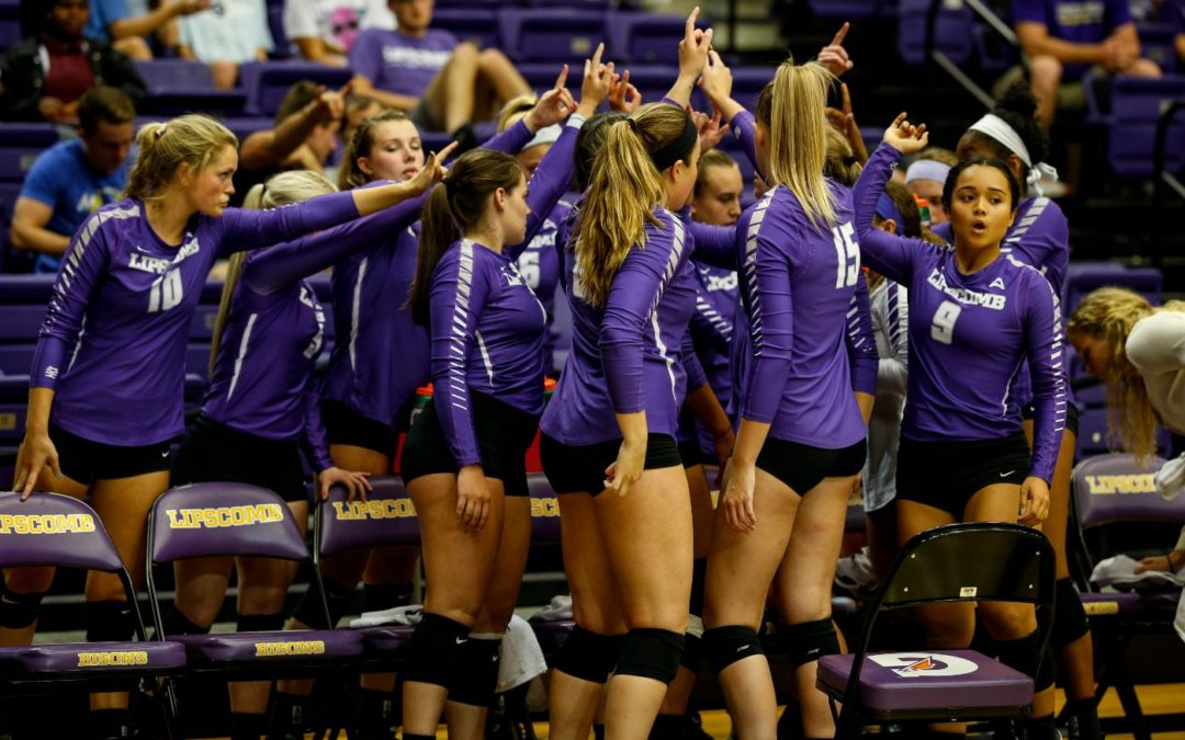 Lady Bisons volleyball experiences triumphs, defeat during LUV Invite
