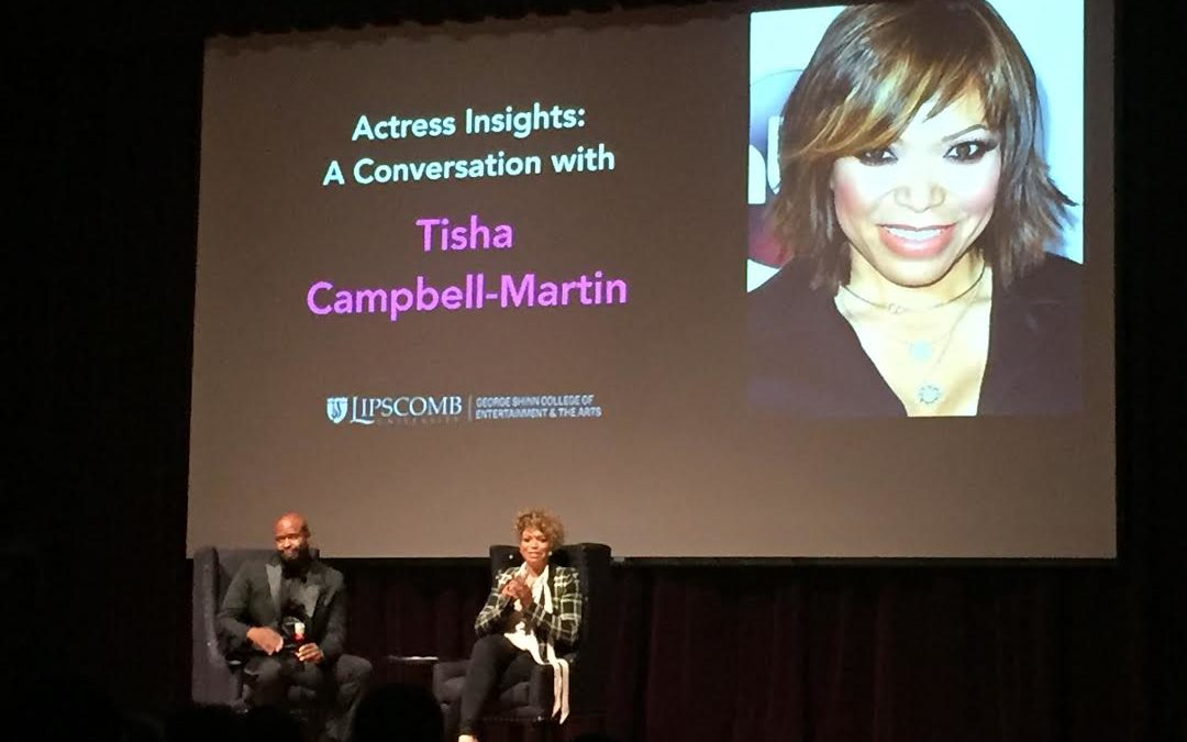 Actress Tisha Campbell-Martin offers insight into life as a Christian actress