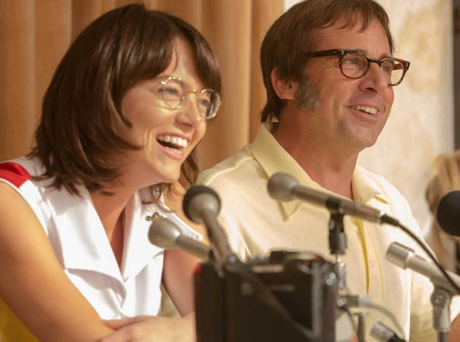 'Battle of the Sexes' is a slow first serve leading to an entertaining match