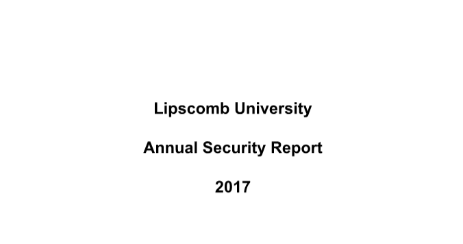 2016 crime report includes two cases of on-campus rape