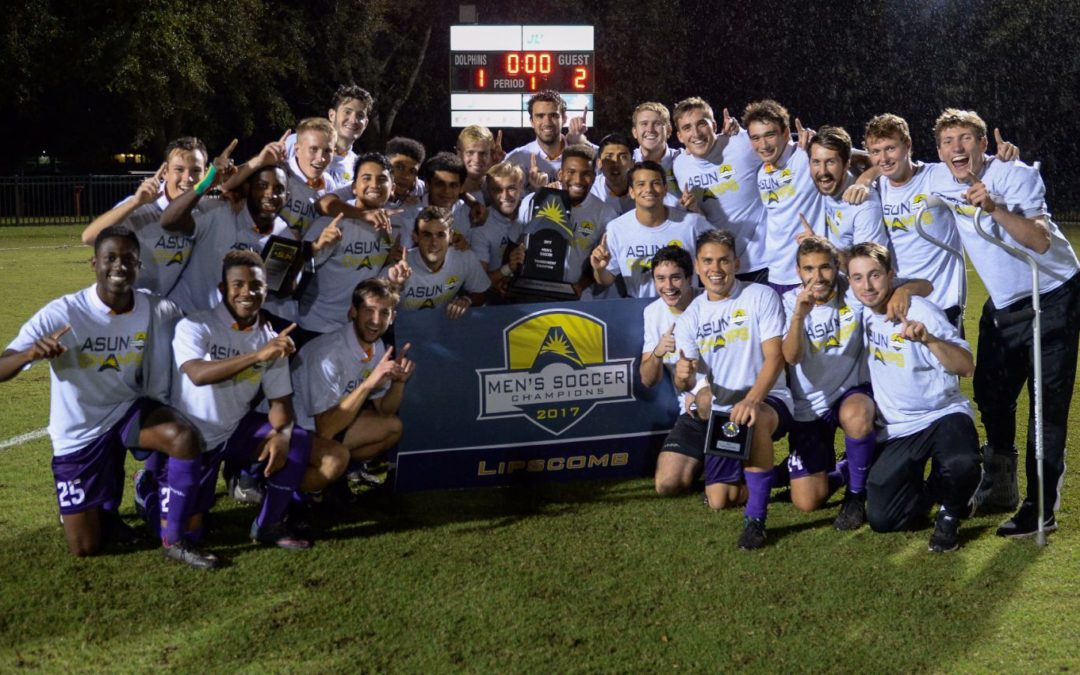 Men's soccer takes ASUN Title for first time in program history