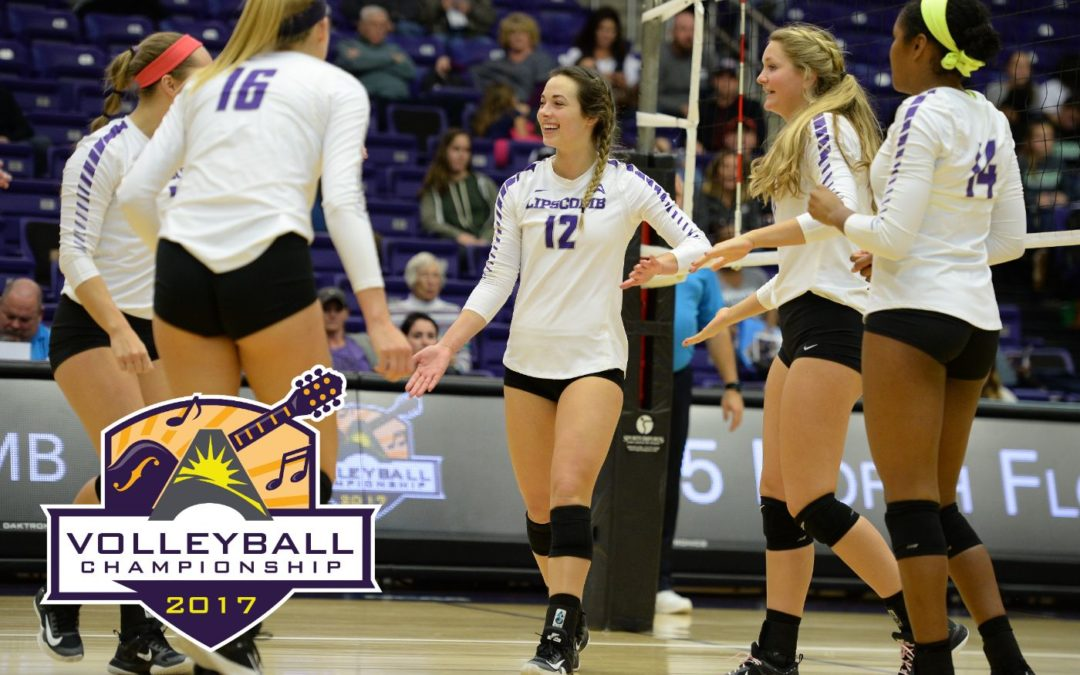 Lady Bisons volleyball takes first game of ASUN championship