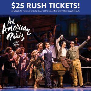 AAIP Rush Tickets