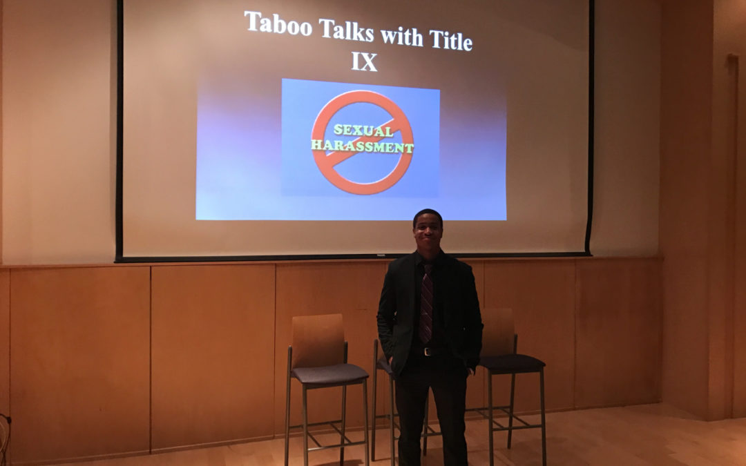 Title IX office hosts 'Taboo Talks with Title IX'