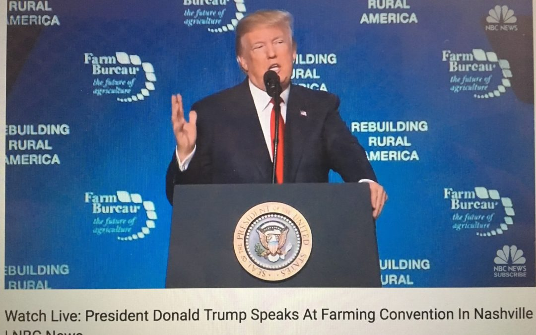 President Trump signs executive order in Nashville