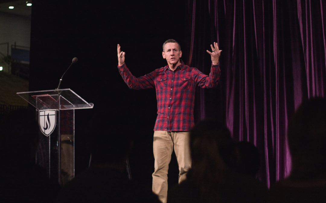 Rick Atchley speaks at The Gathering; new student-led ministry 'Come and See' introduced