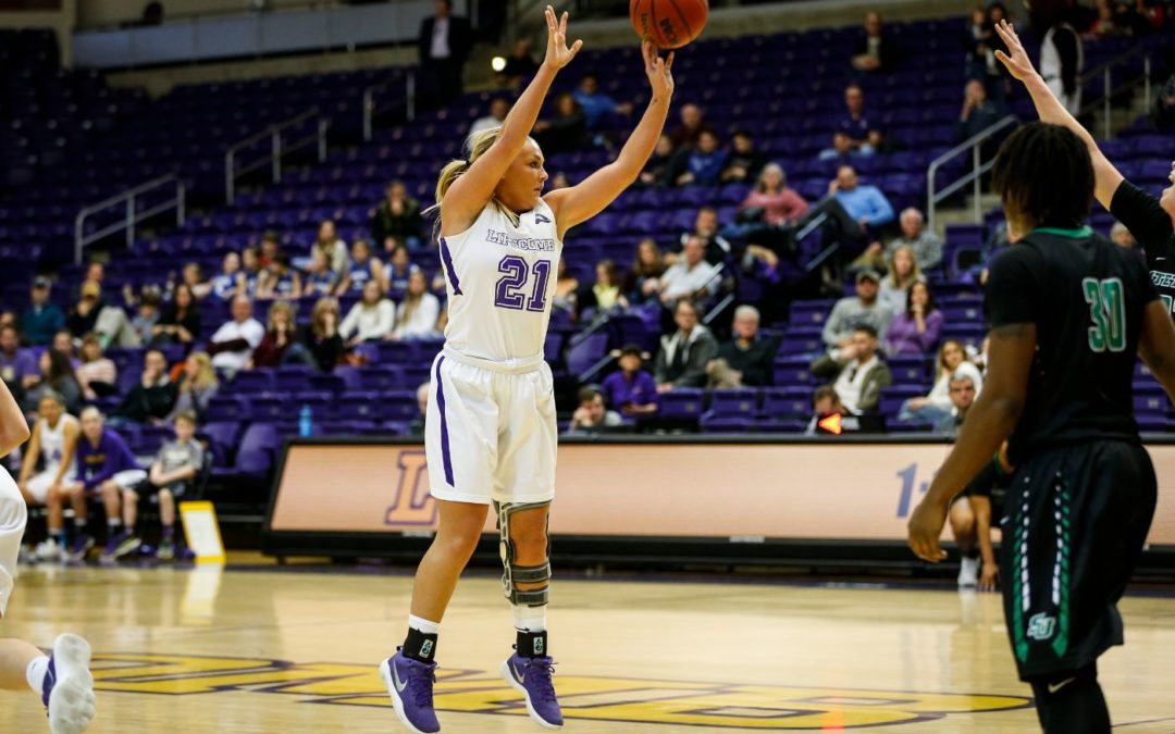 Lady Bisons shoot 14 three-pointers to beat UNF 78-57