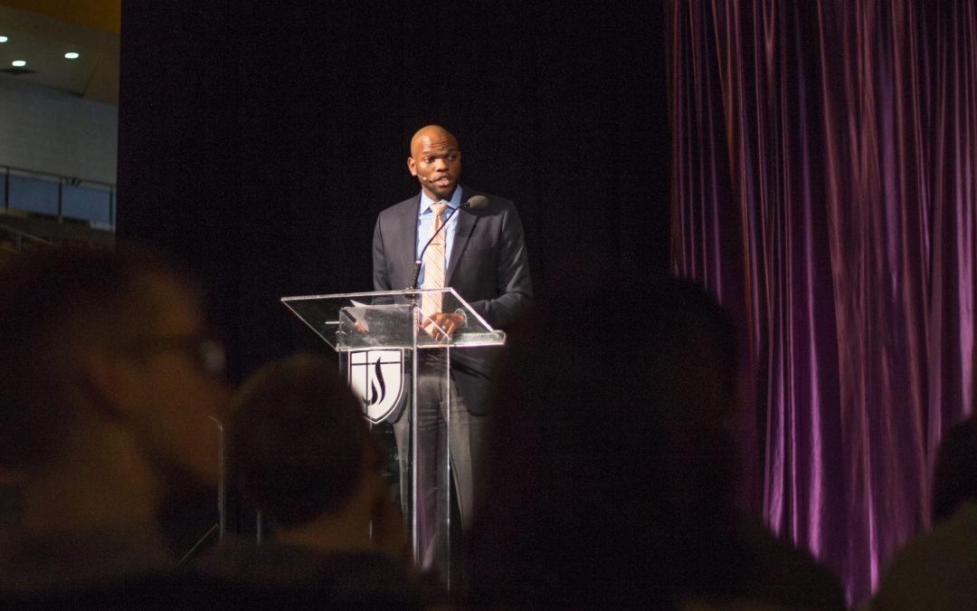 Prentice Ashford talks building relationships in chapel