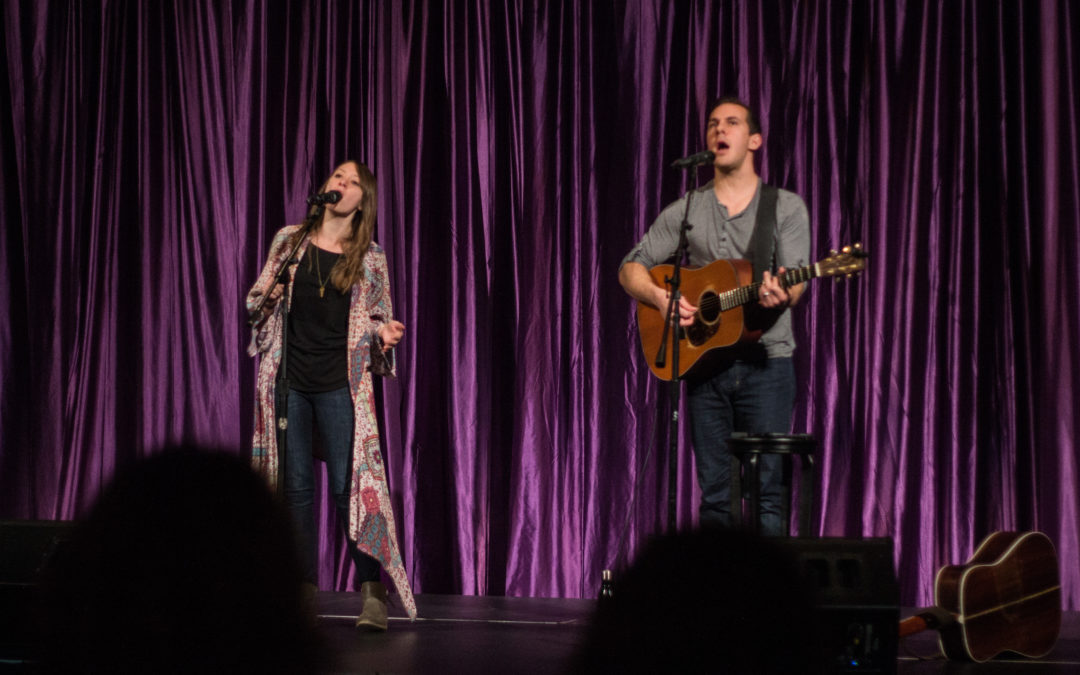 Jenni & Tyler speak and perform at 'The Gathering'