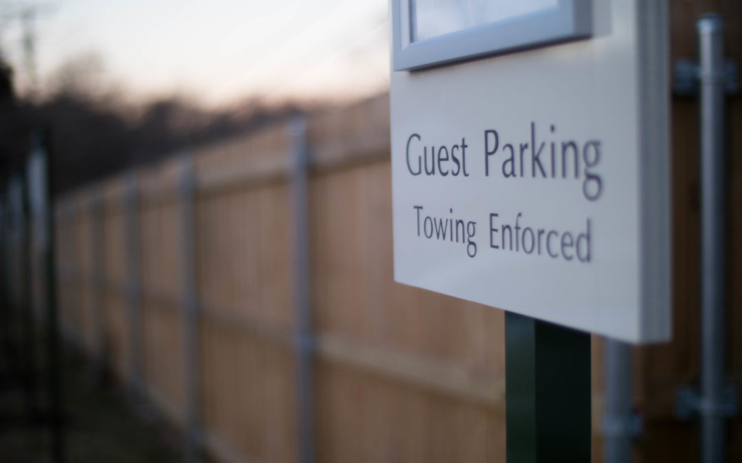 New construction, added guest spaces further restrict student parking