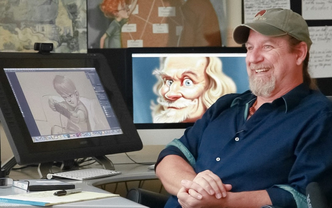 Veteran animator Aaron Blaise brings Disney to Lipscomb