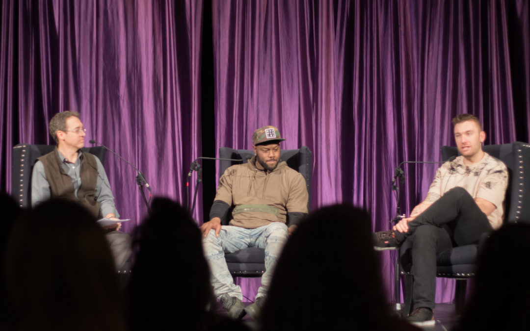Former cop and innocent convict share message of reconciliation in 'The Gathering'