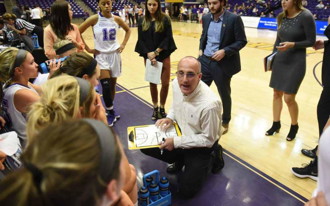 Lady Bisons' 42-point win sets record for margin of victory in ASUN postseason game