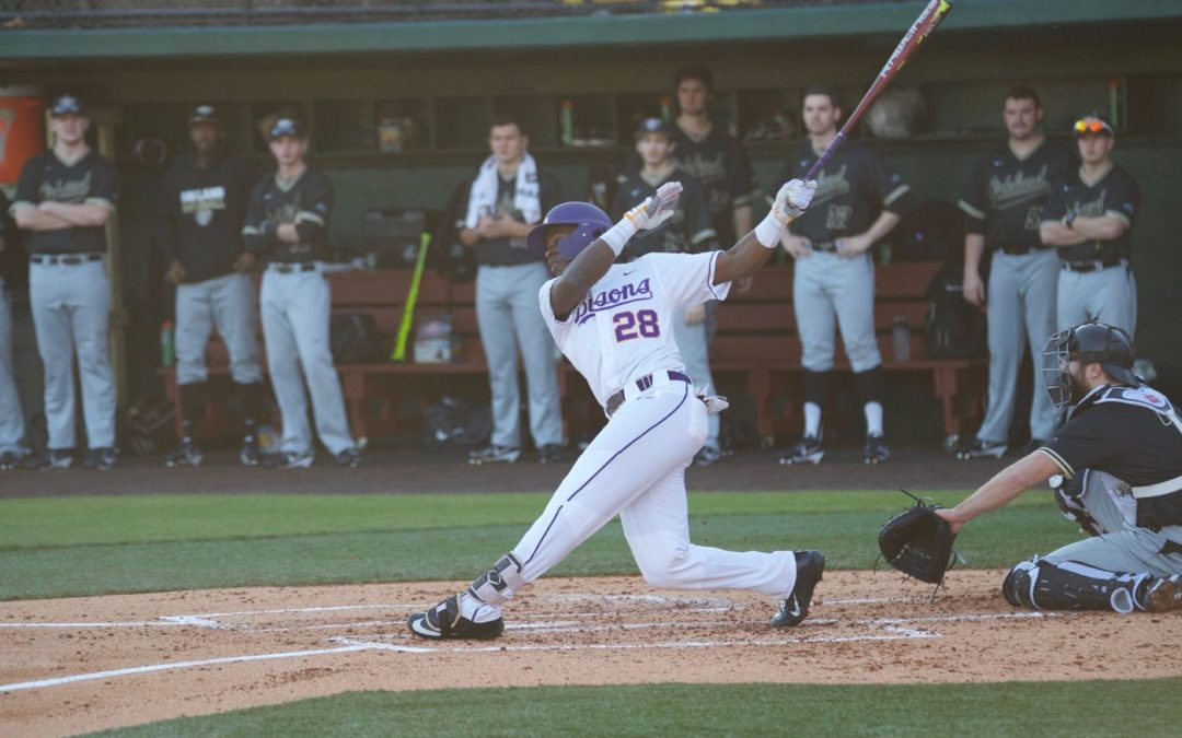 Bisons baseball beats UNCG at home after losing three consecutive games